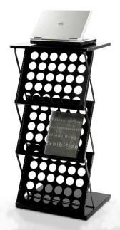 A3 magazine holder stand