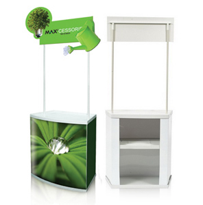 Portable Exhibition Booths : Pvc counter booth table malaysia exhibition booth panel