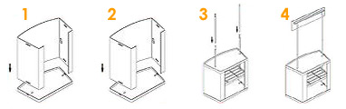 PVC Counter Set up Guide