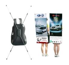 bagpack x banner display